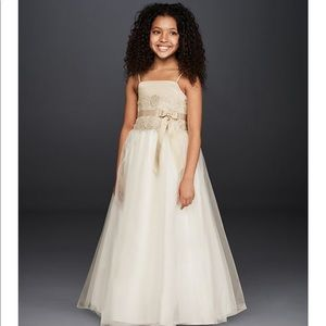 David's Bridal✨ Flower Girl Dress